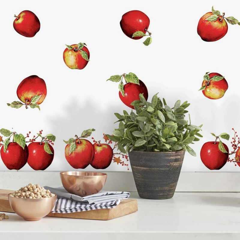 Country Apples Wall Decal
