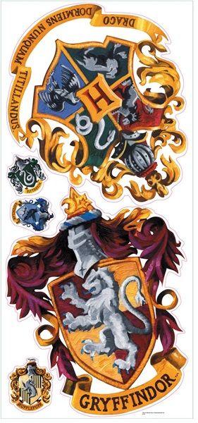 Hogwarts Crest Giant Wall Decals