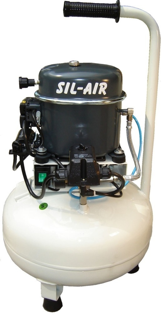Silentaire Sil-Air 50-24-V 1/2 HP Compressor with Fan