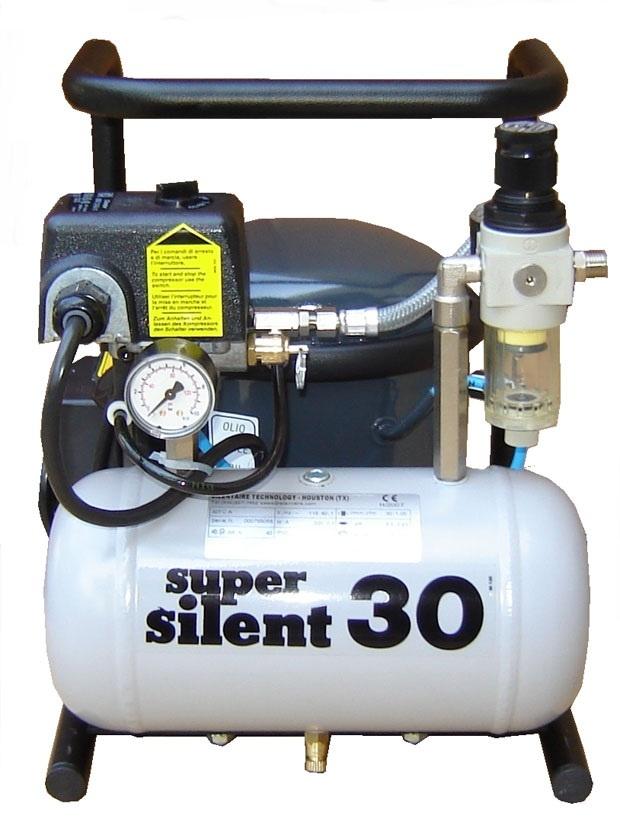 Silentaire 30-TC 1/3 HP Super Silent Oil Lubricated Compressor