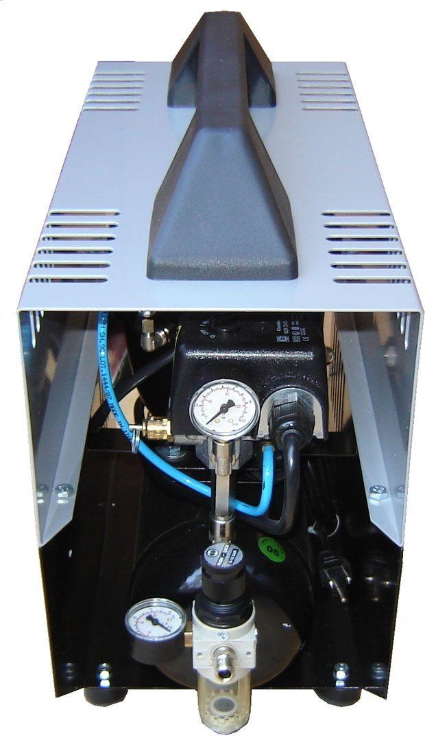 Silentaire Super Silent DR-150 Whisper Quiet Airbrush Compressor, Portable Air Compressor