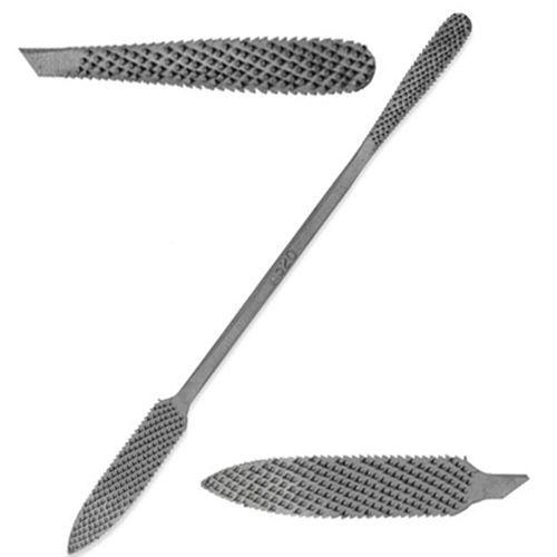 "Italian Hand-cut Stone/wood Carving Rasp - 8"" - No. A520"
