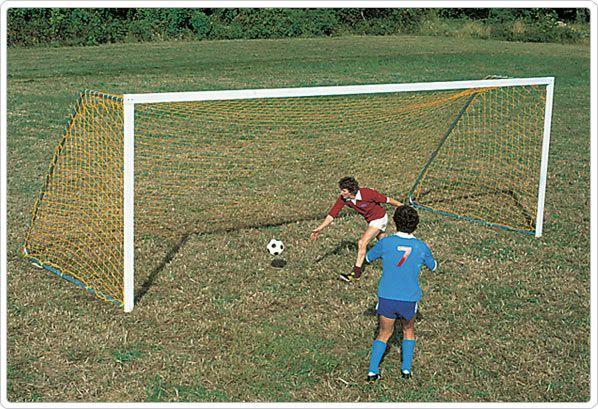 SportsPlay Portable Steel Soccer Goal - Playground Soccer Equipment