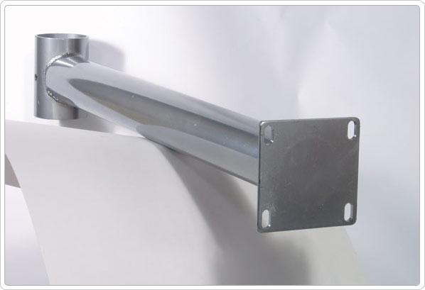 "SportsPlay Adjustable Mounting Bracket: 4.5"" OD Post - Basketball Backboard Equipment"