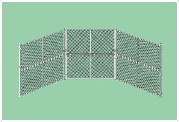 SportsPlay Baseball Backstop Panel - Baseball Field Equipment