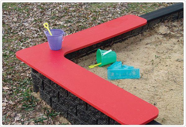 SportsPlay Tot Town Sandbox Seat - Playground Equipment