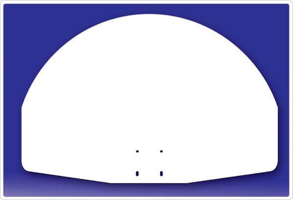 SportsPlay Polyethylene Fan Backboard - Basketball Backboard Equipment