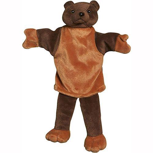 """14"""" Bear Palm Puppet"""