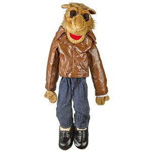 "28"" Camel In Brown Jacket"