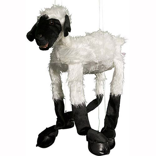 "38"" Large Black Face Sheep"