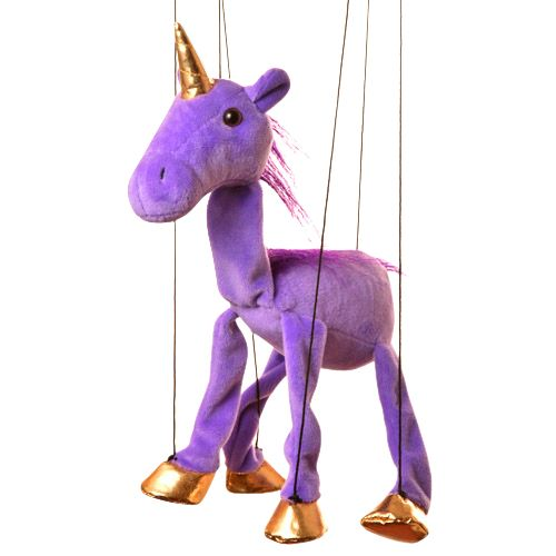 "16"" Baby Purple Unicorn"