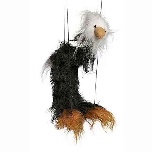 "16"" Baby Black Bald Eagle"