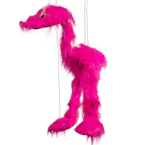 """38"""" Pink Jingle Bird"""