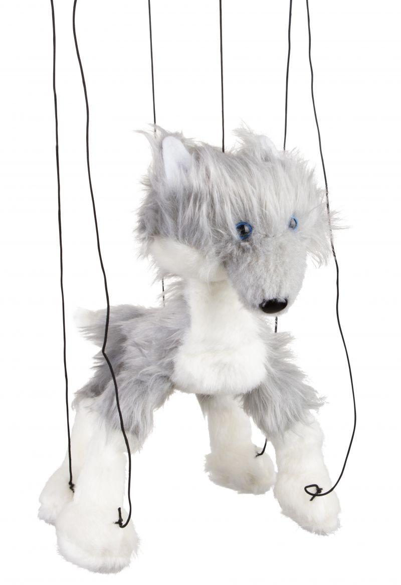 "16"" Baby Grey Wolf"