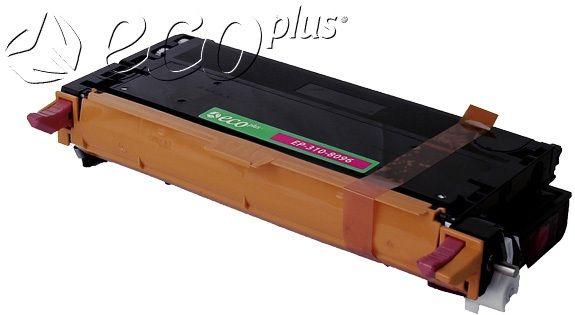 Dell OEM 3108096, 3108399, 59310172 Ecoplus Remanufactured Toner Cartridge: Magenta, 8K Yield