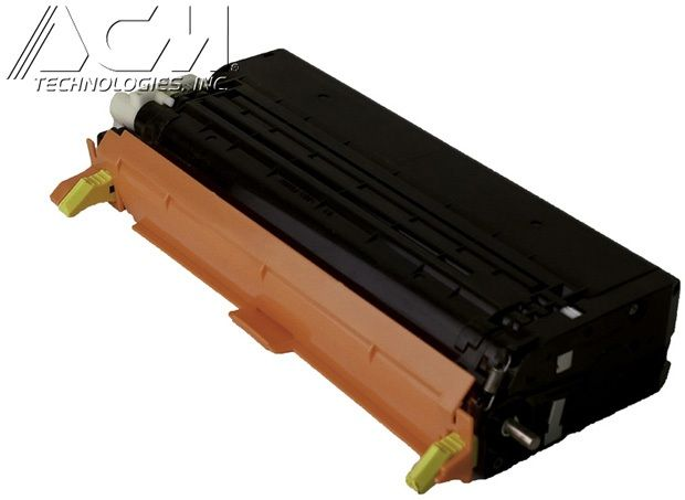 Dell OEM 3301204 Remanufactured Toner Cartridge: Yellow, 9K High Yield
