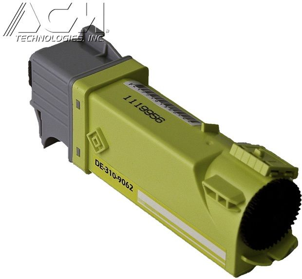 Dell OEM 3109062 Compatible Toner Cartridge: Yellow, 2K Yield