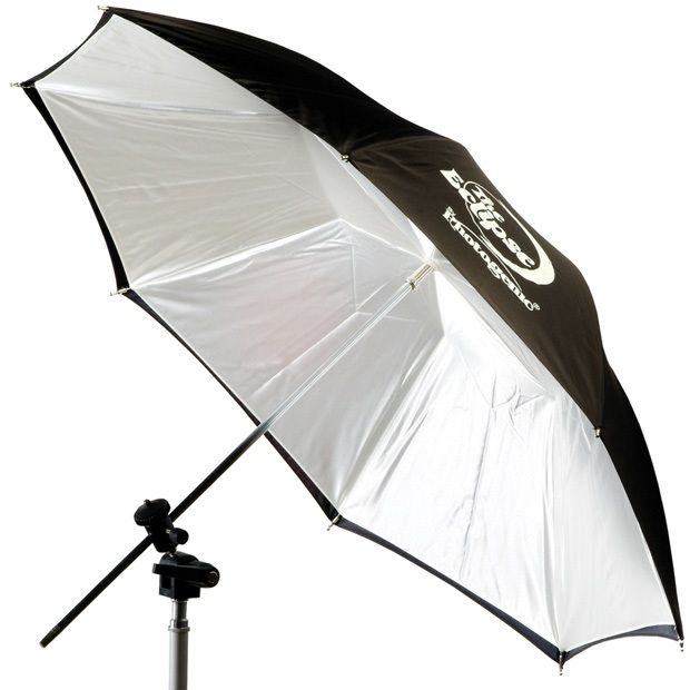"Photogenic EC32BC/909143 Eclipse 32"" White Flat-Panel Umbrella"