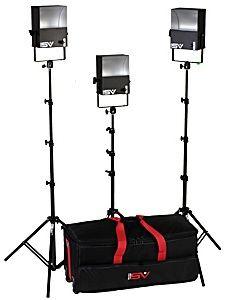 Smith-Victor SL300/401405 3-Light 1800-watt Softlight Location Kit