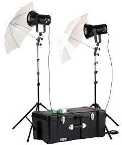 Smith-Victor KQ82/401451 2-Light 1200-watt Ultra Quartz Location Kit