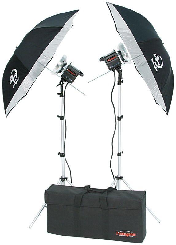 Photogenic CL500K/956791 1000 Watt Digilight Two Light Kit