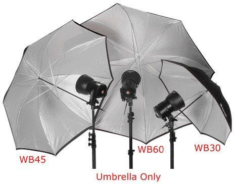 """Norman WB60/812752 White Umbrella: 60"""""""
