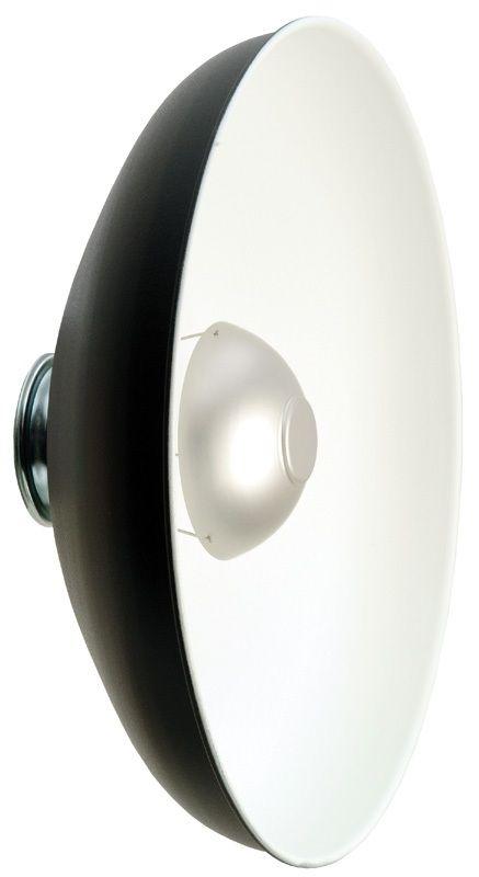 "Photogenic PL18RW/916857 18"" Glamour Reflector With White Interior"