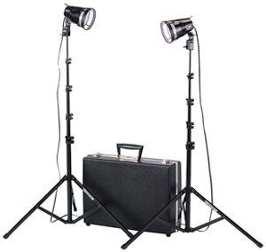 Smith-Victor 2-Light 1200-Watt Portable Attache Kit: Model # K102