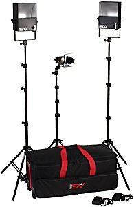 Smith Victor SL270/401409 3-Light 1350-watt Video Interview Kit
