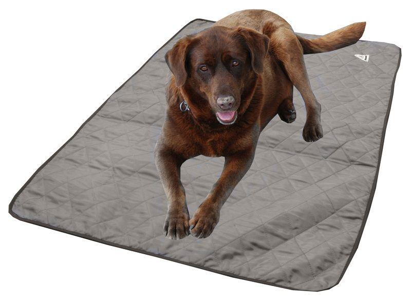 HyperKewl Evaporative Cooling Dog Pad: Silver, XL
