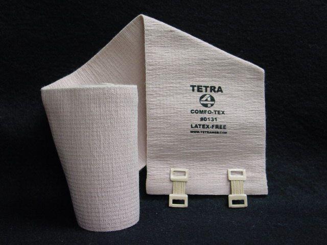 "Tetra Medical Supply Comfo-Tex Elastic Bandage: 3"" x 5yd, Pack of 12"