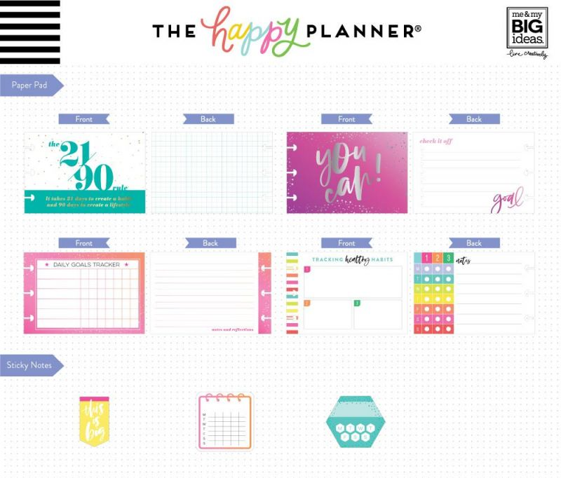 Multi Accessory Pack - Habit Tracking