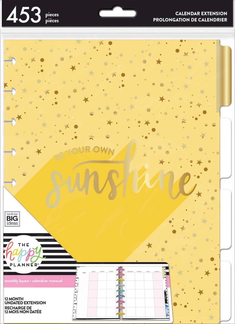Monthly Sunshine - Twelve Month Extension Pack - Classic