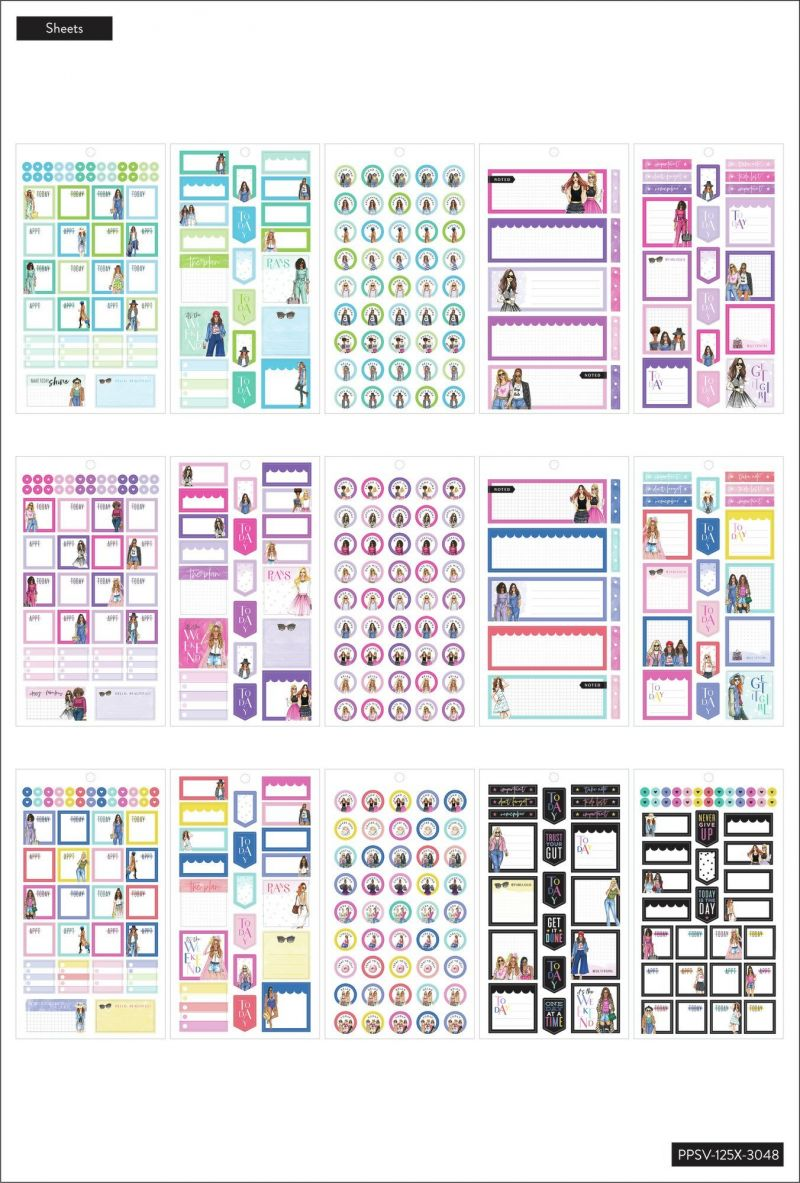 Value Pack Stickers - Rongrong - Mini Functional