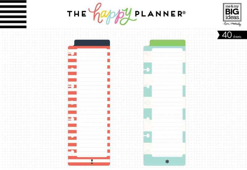 Notepads - Red & Teal