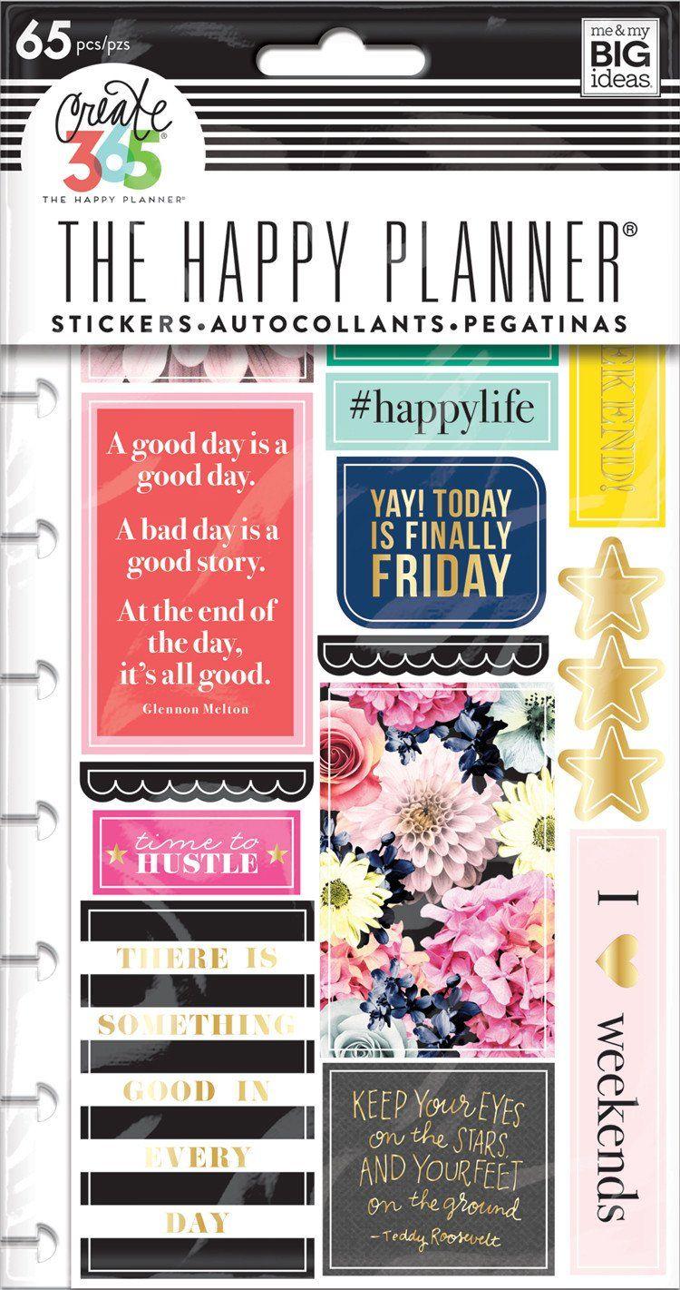 Planner Stickers - Happy Life