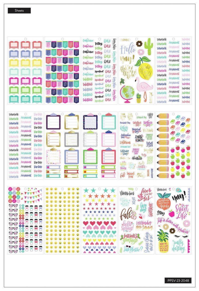 Value Pack Stickers - Sweet Life - Big Teacher