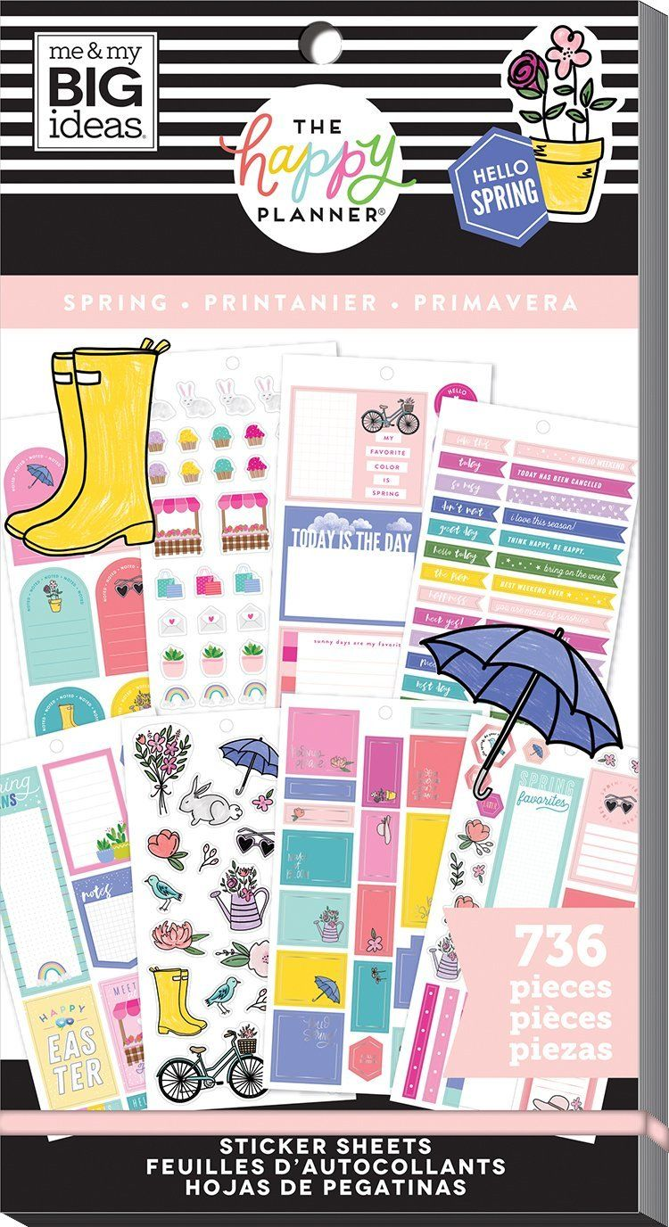 Value Pack Stickers - Spring