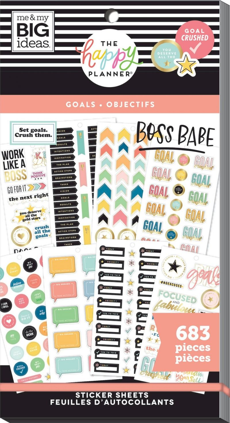 Value Pack Stickers - Goals