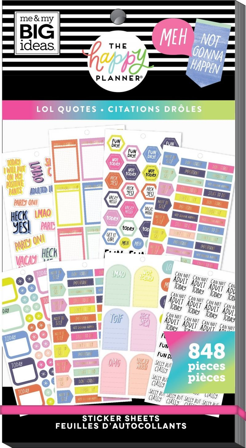 Value Pack Stickers - Lol Quotes