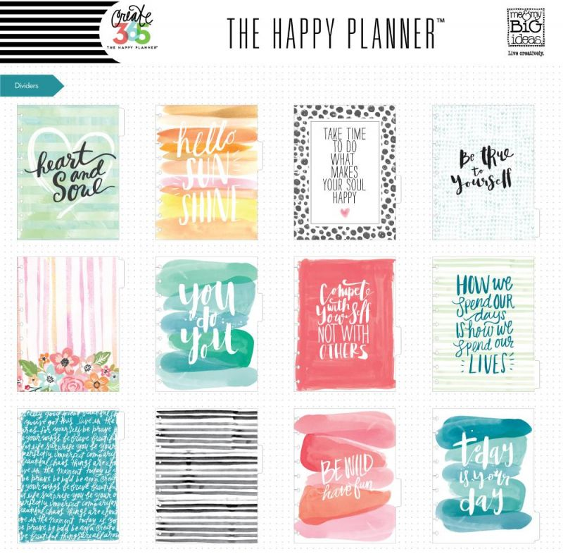 The Happy Planner® 12 Month Box Kit - Classic - Stay Happy