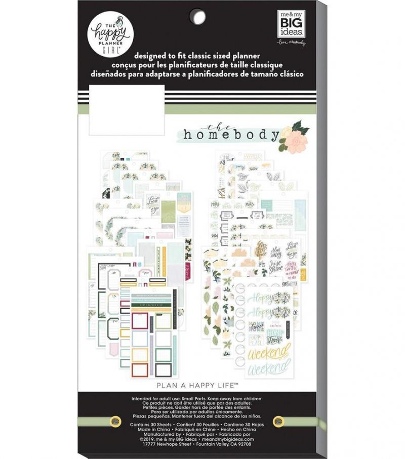 Value Pack Stickers - Homebody