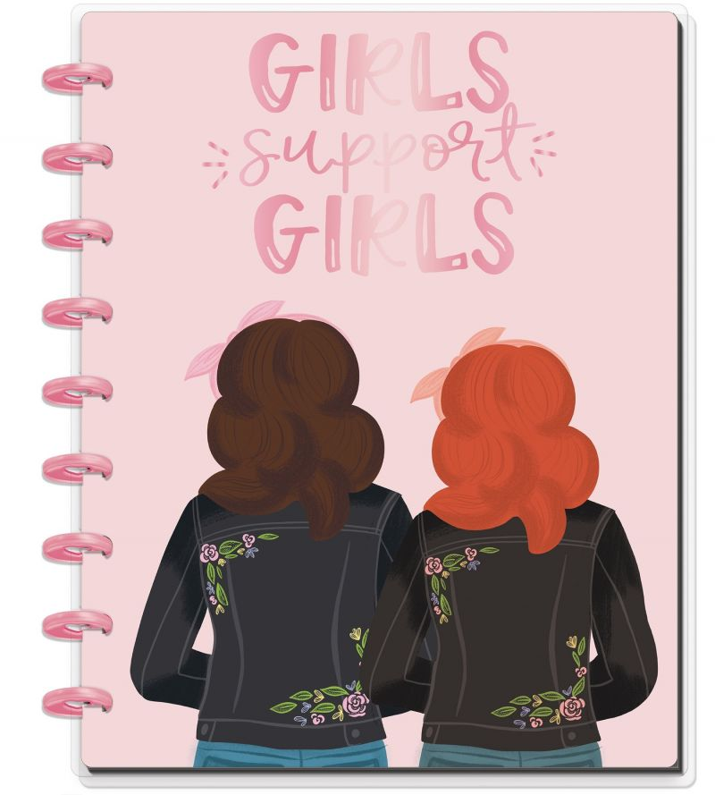 Classic Happy Notes® - Girls Support Girls