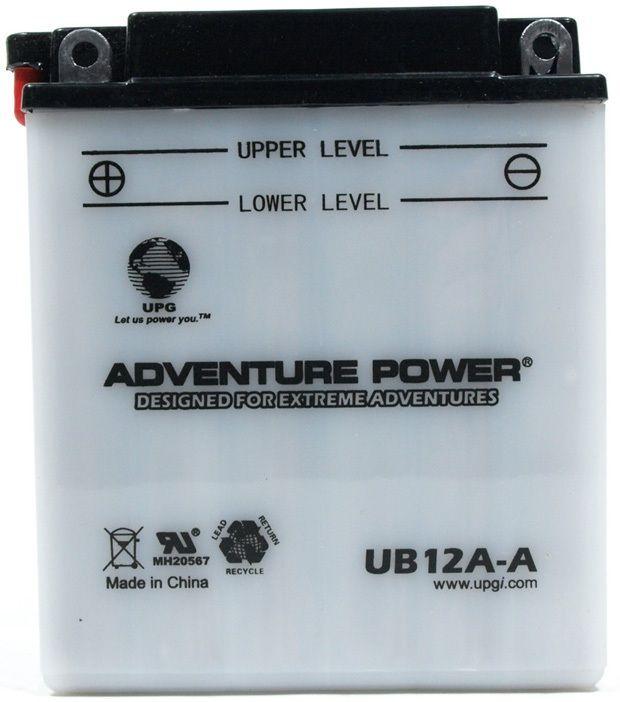 UPG Adventure Power Lead-Acid Conventional: UB12A-A, 12 AH, 12V
