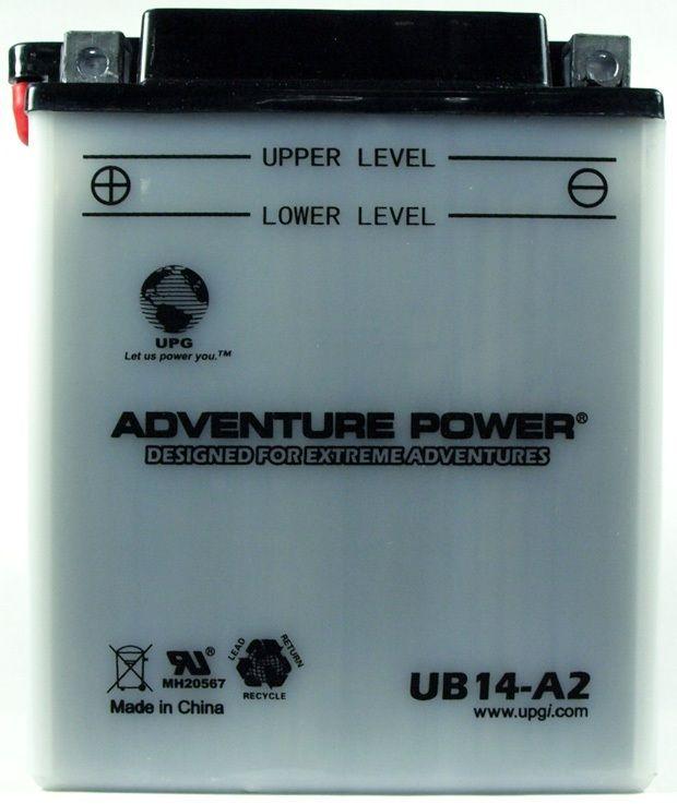 UPG Adventure Power Lead-Acid Conventional: UB14-A2, 14 AH, 12V