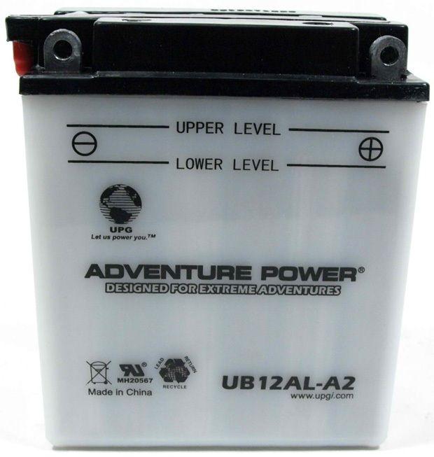 UPG Adventure Power Lead-Acid Conventional: UB12AL-A2, 12 AH, 12V