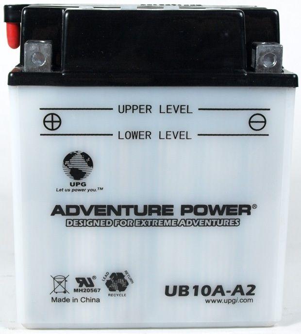 UPG Adventure Power Lead-Acid Conventional: UB10A-A2, 11 AH, 12V