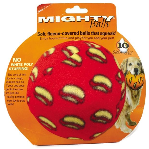 Mighty Ball Large Red