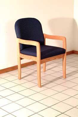 Wooden Mallet™ Prairie Guest Chair: Standard Leg