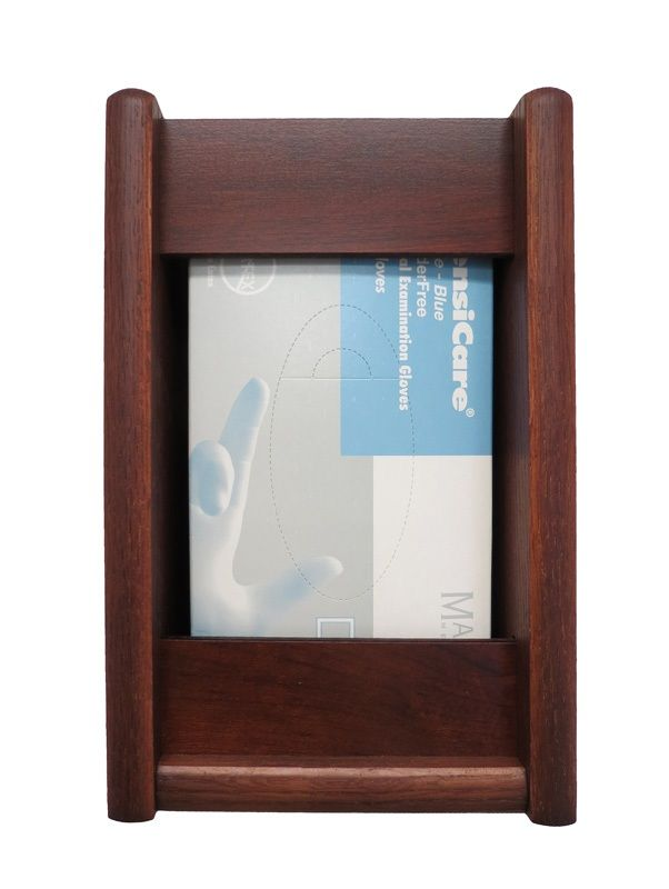 Wooden Mallet™ 1 Pocket Glove/Tissue Box Holder: Rectangle